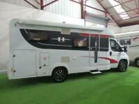 HOBBY SIESTA T65 GE / 3500KG / GARAGE / 2 SINGLE BEDS / GERMAN / MOTORHOME