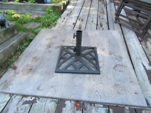 UMBRELLA STANDS FOR PATIO TABLES - REDUCED!!!!