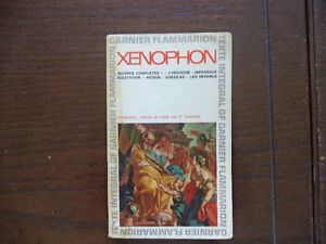 XENOPHON  OEUVRES COMPLÈTES I