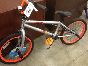 BMX bike, new condition