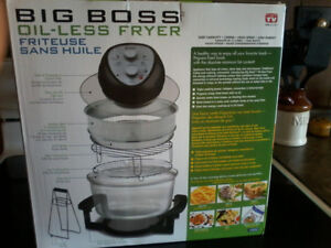 OIL- LESS FRYER (BIG BOSS FRYER)