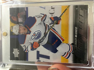 Connor mcdavid rookie card. Young guns