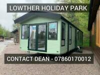 New static caravan holiday home for sale Cumbria Lake District near Ullswater