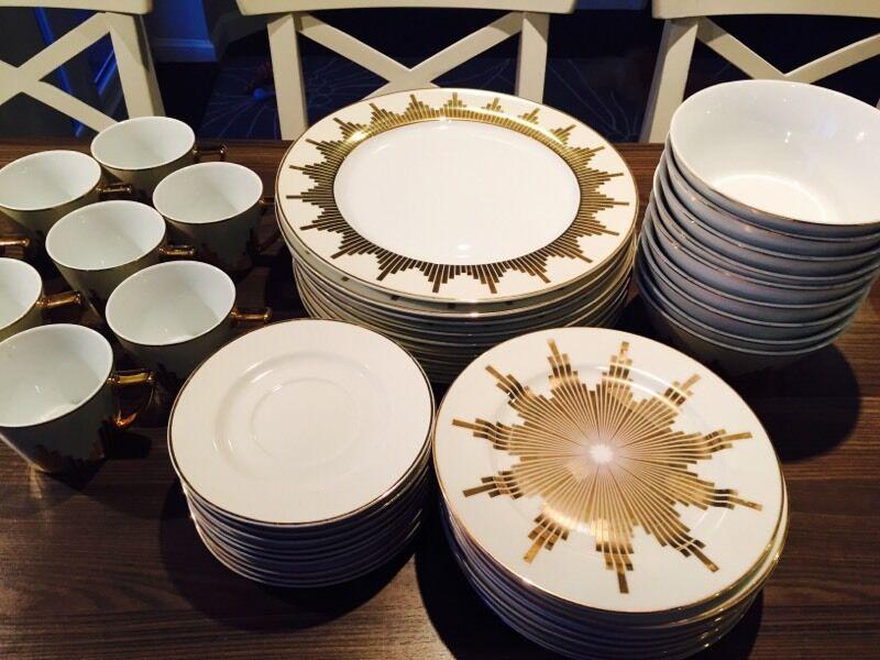 House Of Fraser Stardust Biba Dinner Set 50 Piece
