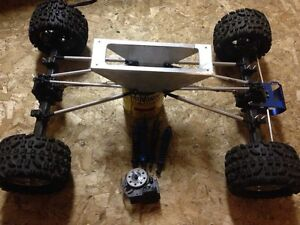 1/8 scale RC rock crawler project