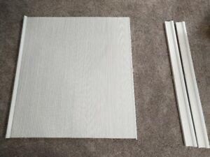 3 x 48in wide x 64in long IKEA White Hoppvals Blinds $20 each