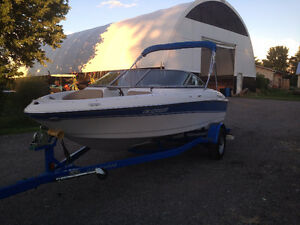 18.5 foot bowrider for sale