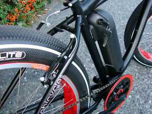 FAT BIKE ON SALE!  Electric Fat Tire Beach Cruiser North Shore Greater Vancouver Area image 4