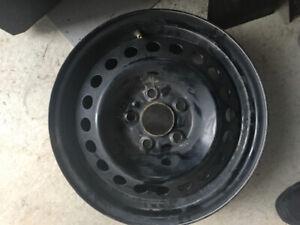 4 roues acier  5x108