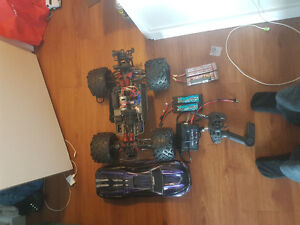 1/10 e revo some upgrades and lipo/charger
