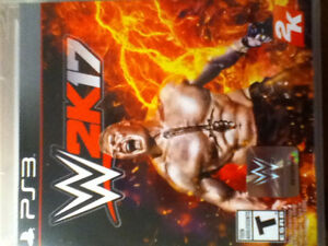 WWE 2K17 For The PS3