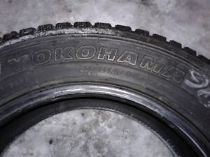 plusieurs pneus d'hiver de 17 pouce: Yokohama,lettré,Winterforce