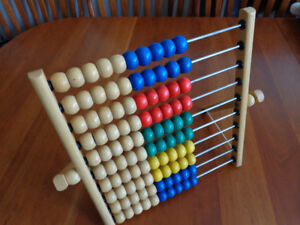 IKEA Abacus:   Great Teaching Tool!  Large size!  Only $5.00!