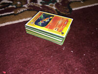 pokemon cards from original 1999 sets