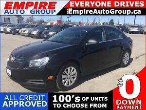 2011 CHEVROLET CRUZE LS * POWER GROUP * LOW KM * EXTRA CLEAN
