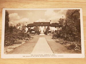 The Guild House, Garden & Lawn - Post Card