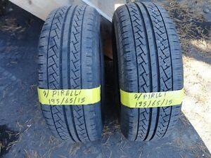 2 ALL SEASON TIRE PIRLLE 195/65/R15 CALL FOR MORE TIRE