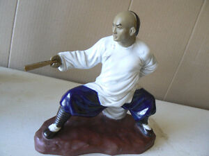 Martial Arts Shiwan monks Ceramic figures. West Island Greater Montréal image 5