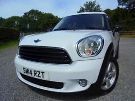 Mini Countryman One with Pepper Pack in White - Petrol