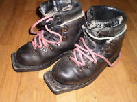 OSOLO Double Leather Telemark Boots
