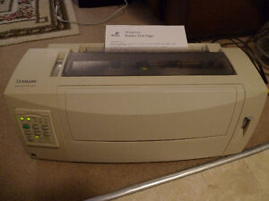 Lexmark Form Printer 2500 Series Dot Matrix Printer