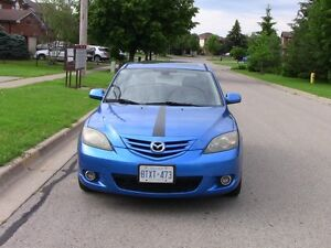 2004 Mazda3 Sport GT Hatchback- With NEW Safety and NEW Emission