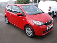 2015 Skoda Citigo SE 12V 1.0 DAMAGED REPAIRABLE SALVAGE