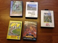Sega megs drive games