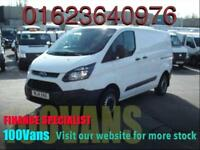 FORD TRANSIT CUSTOM 2.2TDCI ECO-TECH 290 SWB 100PS SAME DAY FINANCE