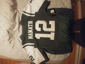 Namath New York Jets jersey Size xxl
