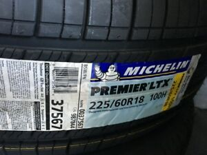 Michelin Premier LTX Tires 225/60 R18  Only 3 left available.