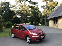 2005/55 Citroen Xsara Picasso 1.6HDi 110hp Exclusive 5 Door Estate Red