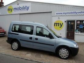 Vauxhall Combo Tour Automatic Wheelchair Scooter Disabled Access Car WAV
