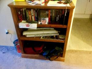 Wood Bookcase FS ($65)