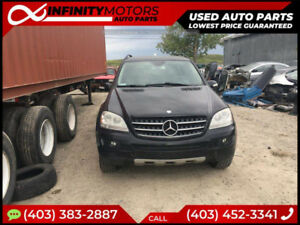 2007 MERCEDEZ BENZ ML350 FOR PARTS PARTING OUT CARS CAR PARTS