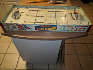 Vintage Table Top Hockey Original 6 From the 1950s Era
