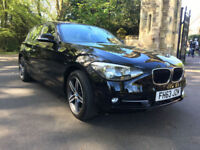£212.39 PER MONTH 2013 BMW 116 SPORT 1.6 PETROL MANUAL 5 DOOR S/S