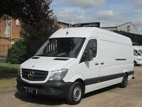 2014 14-REG Mercedes Benz Sprinter 2.1TD 313CDI LWB 130PS NEW SHAPE. PX WELCOME