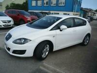 2011 (61) SEAT LEON 1.6 TDi COPA White Diesel Manual Aux 1 Owner Cruise Climate