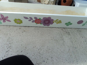 Country FarmhouseTwo Large  Wooden Planters-Reduced $15