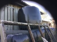 Large bales of very well got haylage