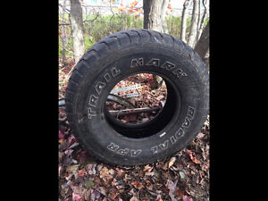 31X10.5x15 tires good for mud truck