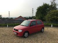 2002/02 Daihatsu Cuore 1.0 SL 5 Door Hatchback Red