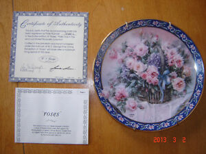 Retired Lena Liu collector Plates - Qty of two London Ontario image 2