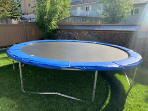 Great condition trampoline for sale