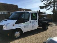 Ford Transit 2.2TDCi ( 100PS ) ( EU5 ) ( RWD ) 350L Double cab Tipper