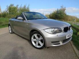 2008 08 BMW 1 SERIES 2.0 120I SE CONVERTIBLE 168 BHP