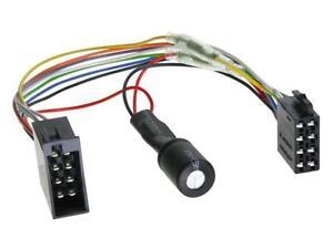 Radio Adapter Anschlusskabel ISO (Strom) Spannungsstabilisator Start / Stopp ACV