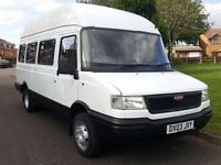 LDV 400 CONVOY D LWB + 17 SEATER + HIGH ROOF + TWIN WHEELS