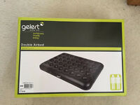 Gelert Double Air bed- only used once - comes with box.